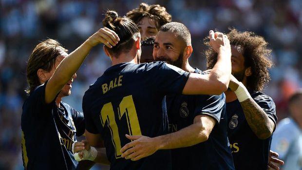 Gareth Bale sumbang satu assist kepada Karim Benzema.