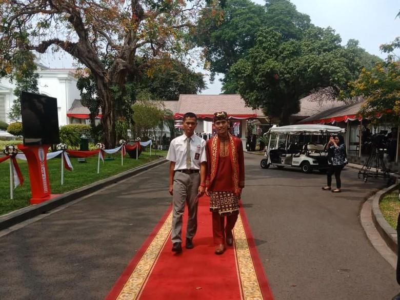 Koko Ardiansyah Terharu Bisa ke Istana