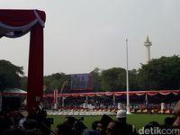 Ungkapan Syukur Paskibraka Salma Pembawa Bendera Merah Putih di Istana