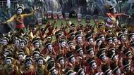 Penampilan Memukau Para Penari Thengul di Istana Merdeka