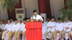 Pesan Prabowo ke Gerindra di HUT Ke-74 RI: Jangan Ada Patriot yang Sedih!
