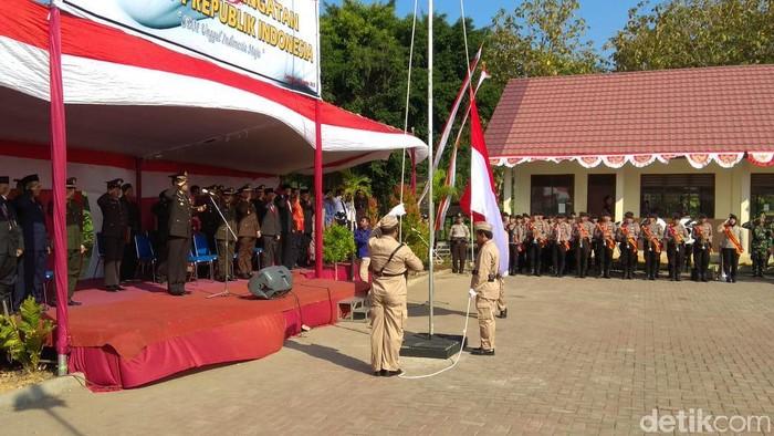 Mantan napiter, kombatan, dan simpatisan JI serta ISIS ikut upacara (Foto: Eko Sudjarwo)