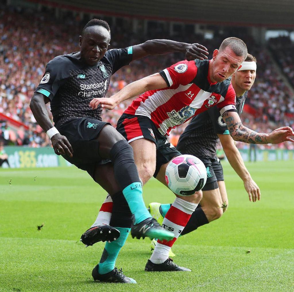 Babak I Southampton Vs Liverpool: Gol Sadio Mane Jadi Pembeda