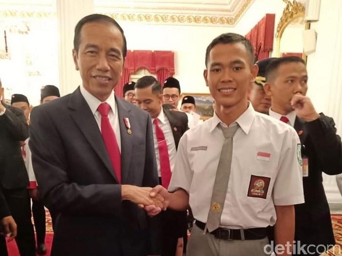 Koko Ardiansyah bertemu Presiden Jokowi di Istana, Sabtu (17/8/2019) Foto: Dok. Istimewa