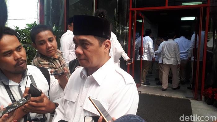 Ketua DPP Partai Gerindra Ahmad Riza Patria. (Foto: Faiq Hidayat/detikcom)