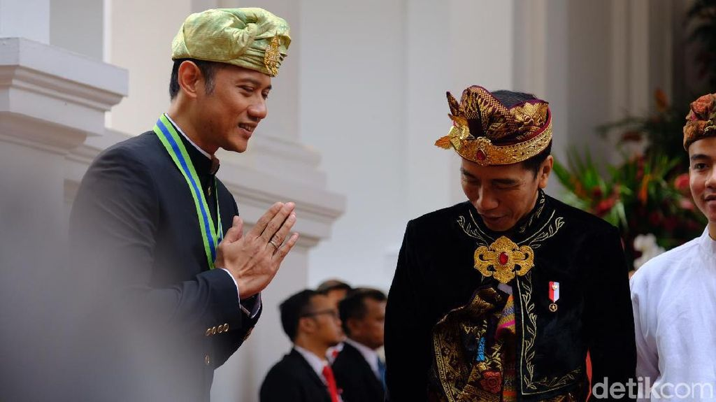 Diam-diam AHY Temui Jokowi di Istana Bogor