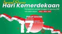 Promo Kemerdekaan, Ada Paket Umroh Mulai dari Rp 17 Jutaan