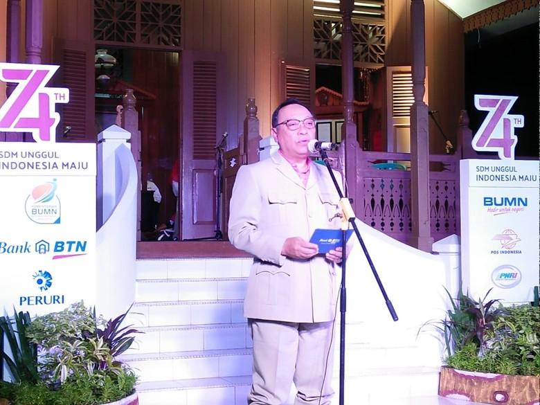 Dirut BTN Bacakan Puisi Berjudul Kepada Tanah Air di Rumah Fatmawati