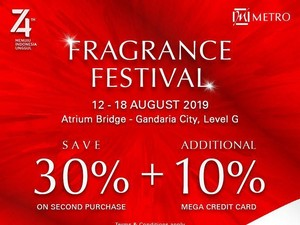 Beragam Produk Fashion & Beauty Diskon di Metro Department Store