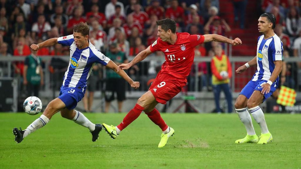 Bayern Munich Vs Hertha: Laga Pembuka Bundesliga Berakhir Imbang