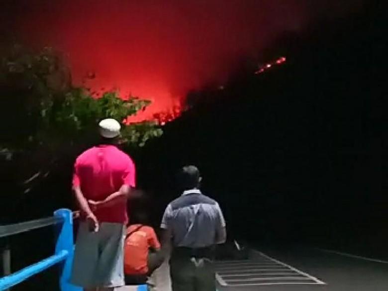 Setelah Terbakar 13 Jam, Karhutla di Bukit Pandanan Lombok Padam