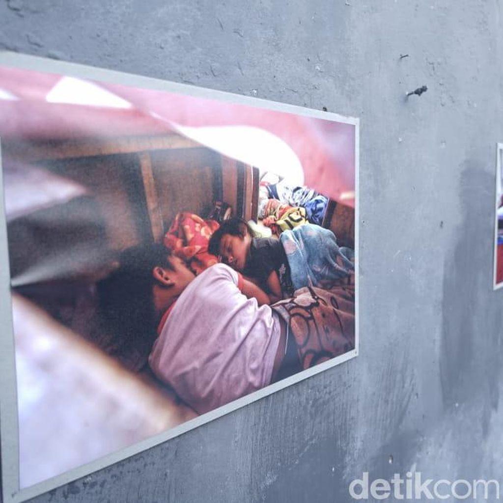 Potret Kesertaraan di Reruntuhan Rumah Deret Tamansari Bandung