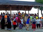 Euforia 17 Agustusan di Kamp Pengungsian Korban Gempa Palu