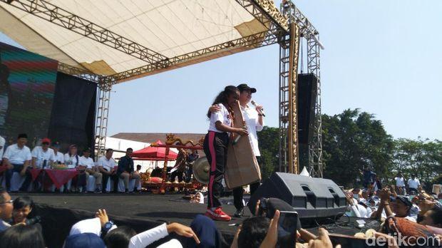Puan Maharani di Orientasi Diponegoro Muda di Universitas Diponegoro Semarang