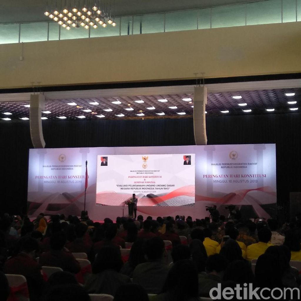 Lewat Pantun, Ketua MPR Ajak Warga Kembali Bersatu