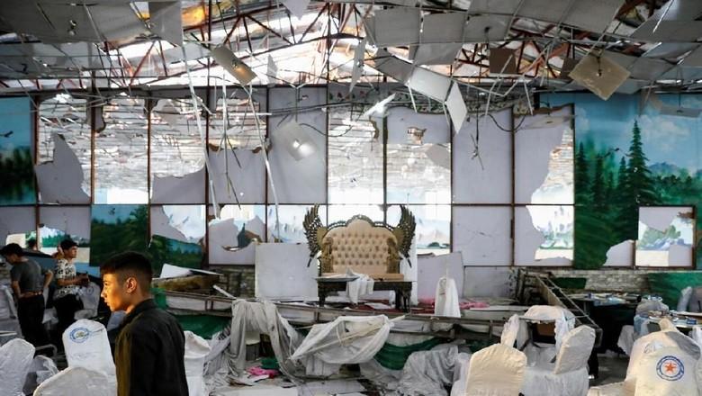 Bom Meledak Saat Resepsi Pernikahan di Afghanistan, 63 Orang Tewas