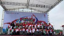 HK, PTPN V, & PNM Meriahkan Peringatan HUT RI Ke-74 di Pekanbaru