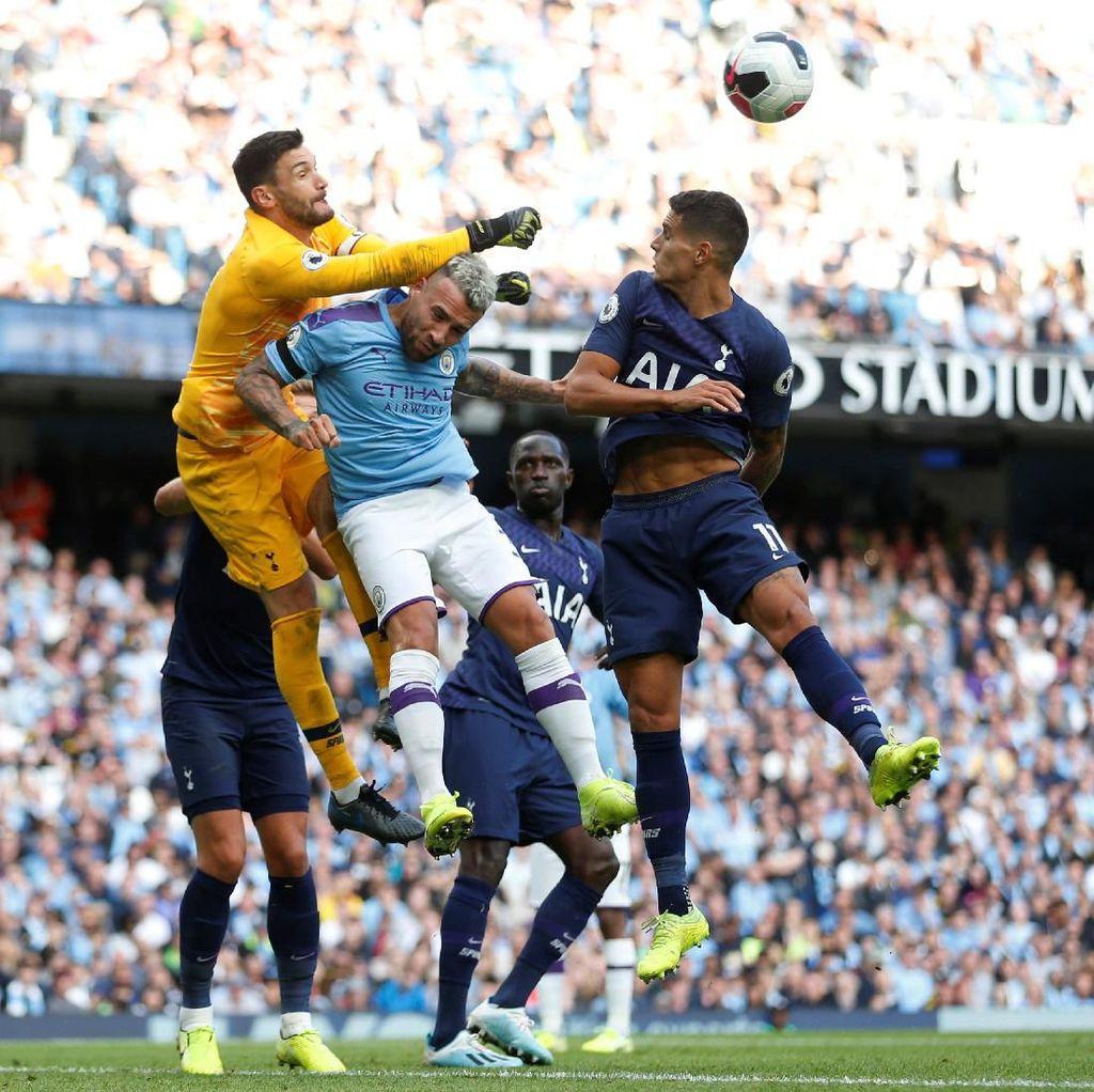 Drama VAR di Injury Time, Man City Vs Tottenham Imbang 2-2