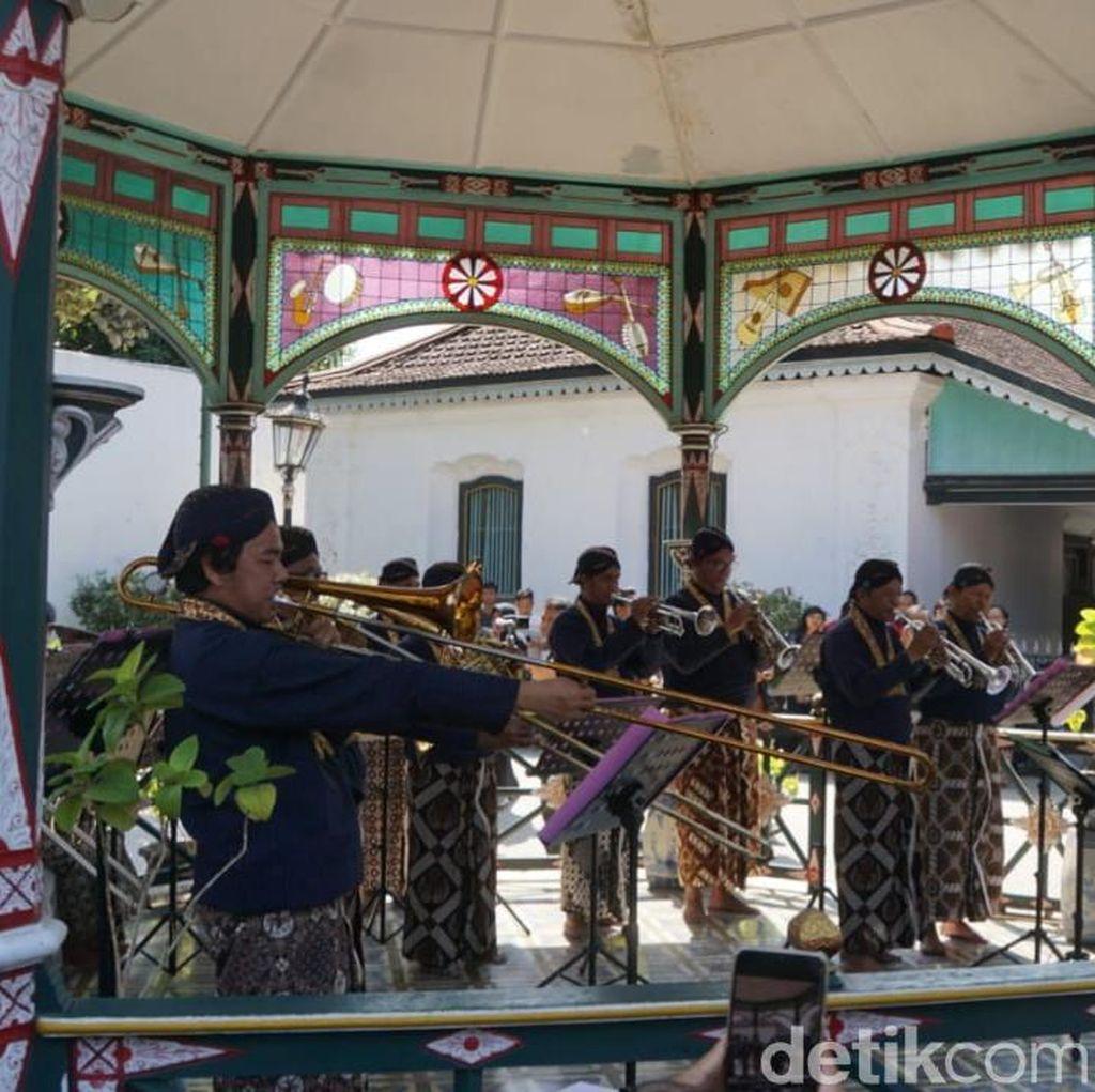 Pertama Kali setelah Indonesia Merdeka! Pentas Musikan di Keraton Yogya