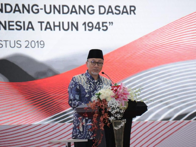 Ketua MPR: Fungsi Konstitusi Tegaskan Identitas NKRI
