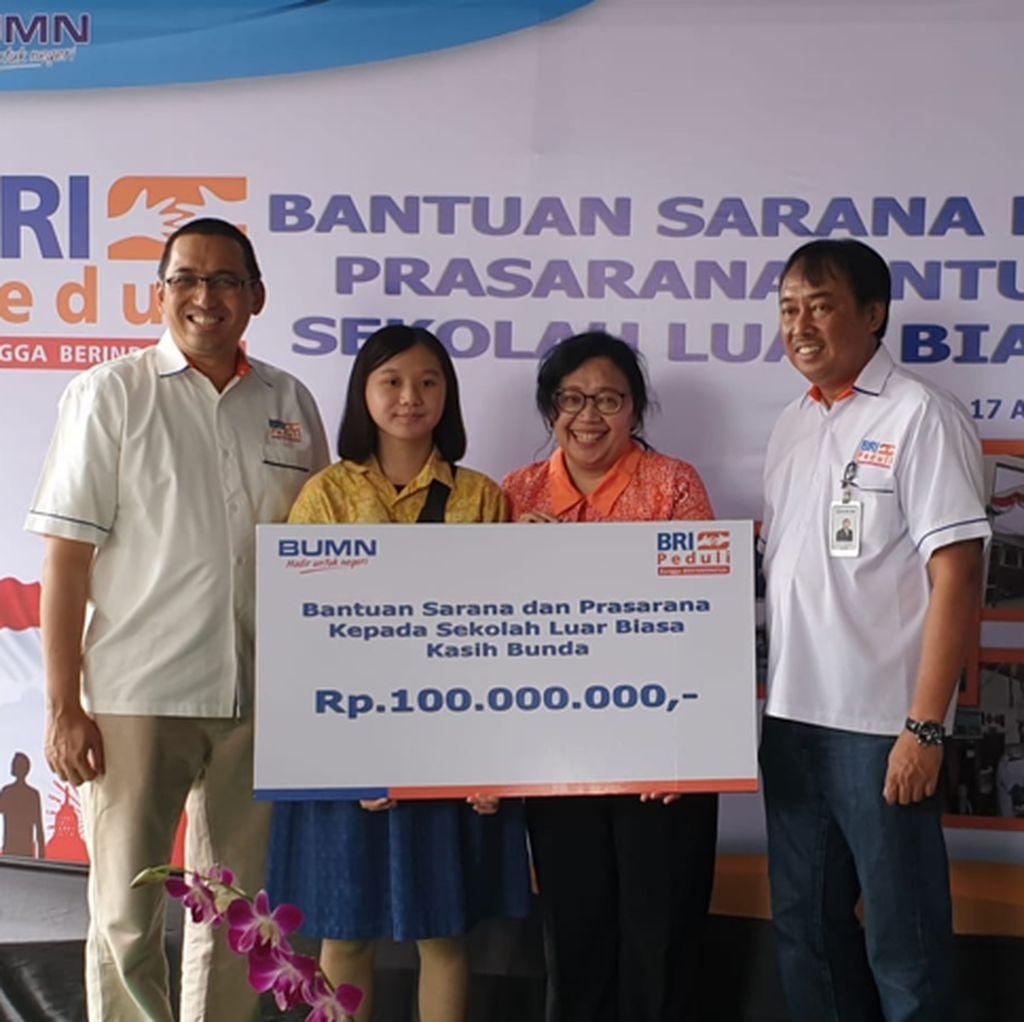 Di HUT ke-74 RI, BRI Beri Bantuan CSR ke 57 SLB di Seluruh Indonesia