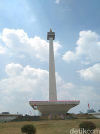 Monas di Jakarta.