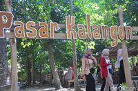 Pasar Kalangon (Akrom Hazami/detikcom)