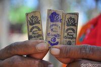 Uang bambu (Akrom Hazami/detikcom)