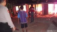 5 Jam Terbakar, Rumah Wakito di Wonogiri Ludes
