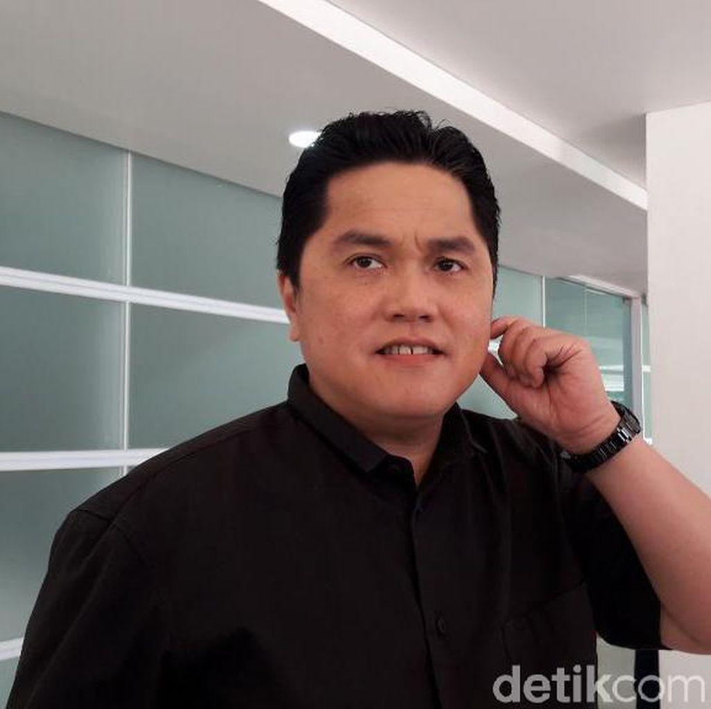 Soal Posisi Menteri Jokowi, Erick Thohir Bicara Kontribusi Lewat Swasta