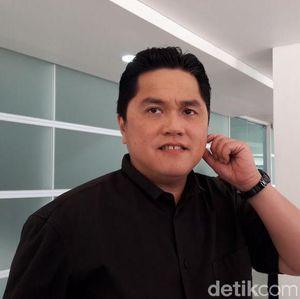 Heboh Tudingan Germo di Garuda, Erick Thohir Buka Suara