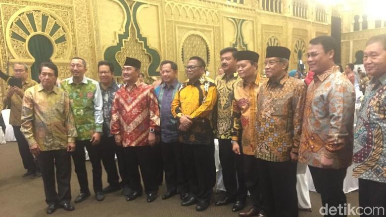 Ketua MPR hingga Kapolri-Panglima TNI Hadiri Acara Ultah OSO Ke-69