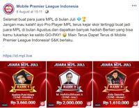 Jago Main e-Sports dan Menghasilkan, Mau?