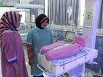 Bayi yang Ditemukan Terbuang di Surau Dirawat di RSUD Blambangan