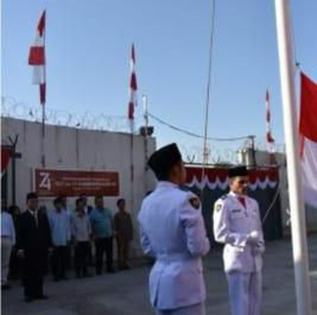Warga Irak Jadi Pengibar Merah Putih di Perayaan HUT RI ke-74 di Baghdad