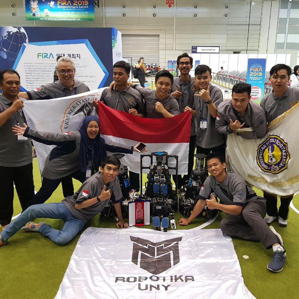 Robotika UNY Sabet 5 Penghargaan di Kancah Internasional