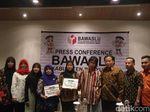 Bawaslu Berikan Santunan Kecelakaan Kerja 8 Pengawas Pemilu Banyumas
