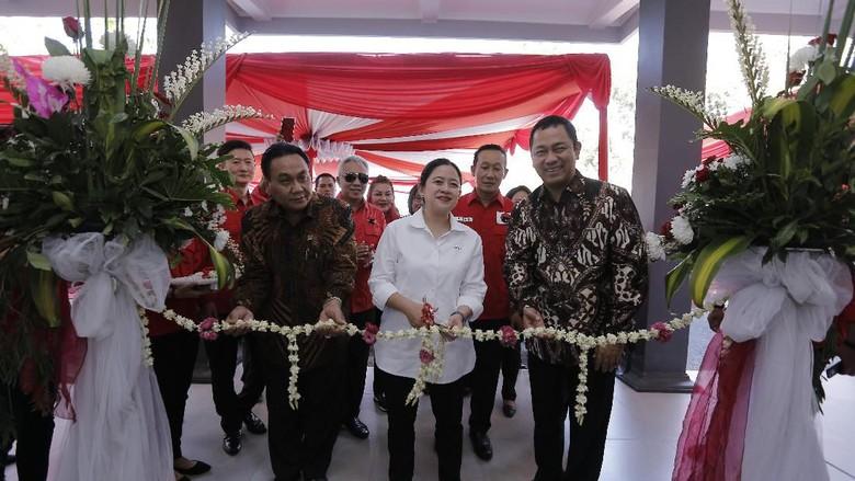 Puan Maharani Bangga PDIP Kota Semarang Punya Kantor Baru