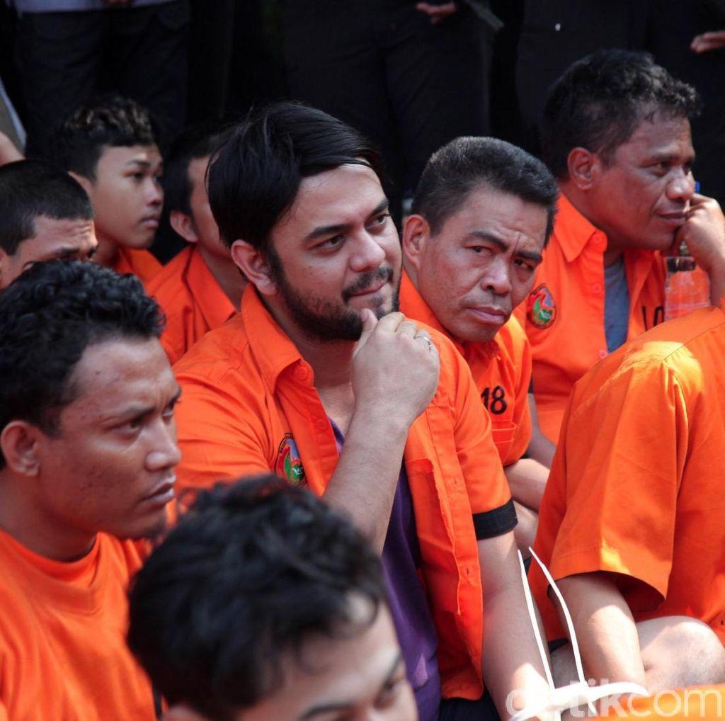 Polda Metro Musnahkan Narkoba, Rio Reifan dan Umar Kei Ikut Dipamerkan