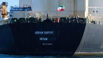 Kapal Tanker Minyak Iran yang Disita Berlayar dari Gibraltar