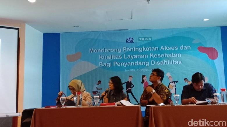ICW Soroti Minimnya Layanan Kesehatan bagi Penyandang Disabilitas