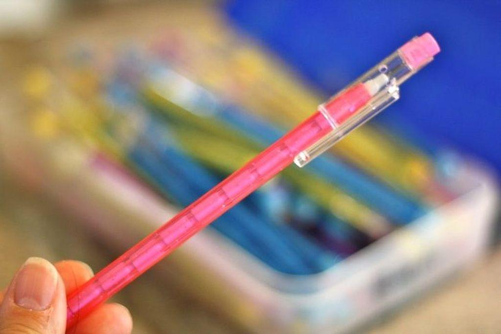 Pensil macam ini pastinya sudah tak asing lagi dong? (Foto: Via Brightside)