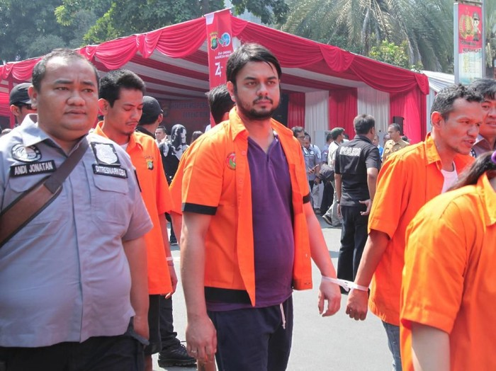 Pemusnahan barang bukti narkoba di Polda Metro Jaya