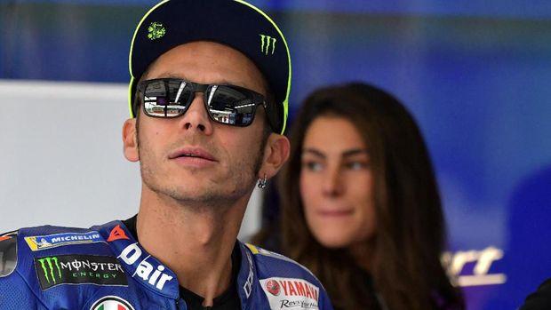 Valentino Rossi baru mampu merebut dua podium di MotoGP 2019.