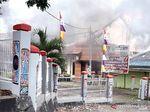 Gedung DPRD Papua Barat di Manokwari Dibakar Pendemo