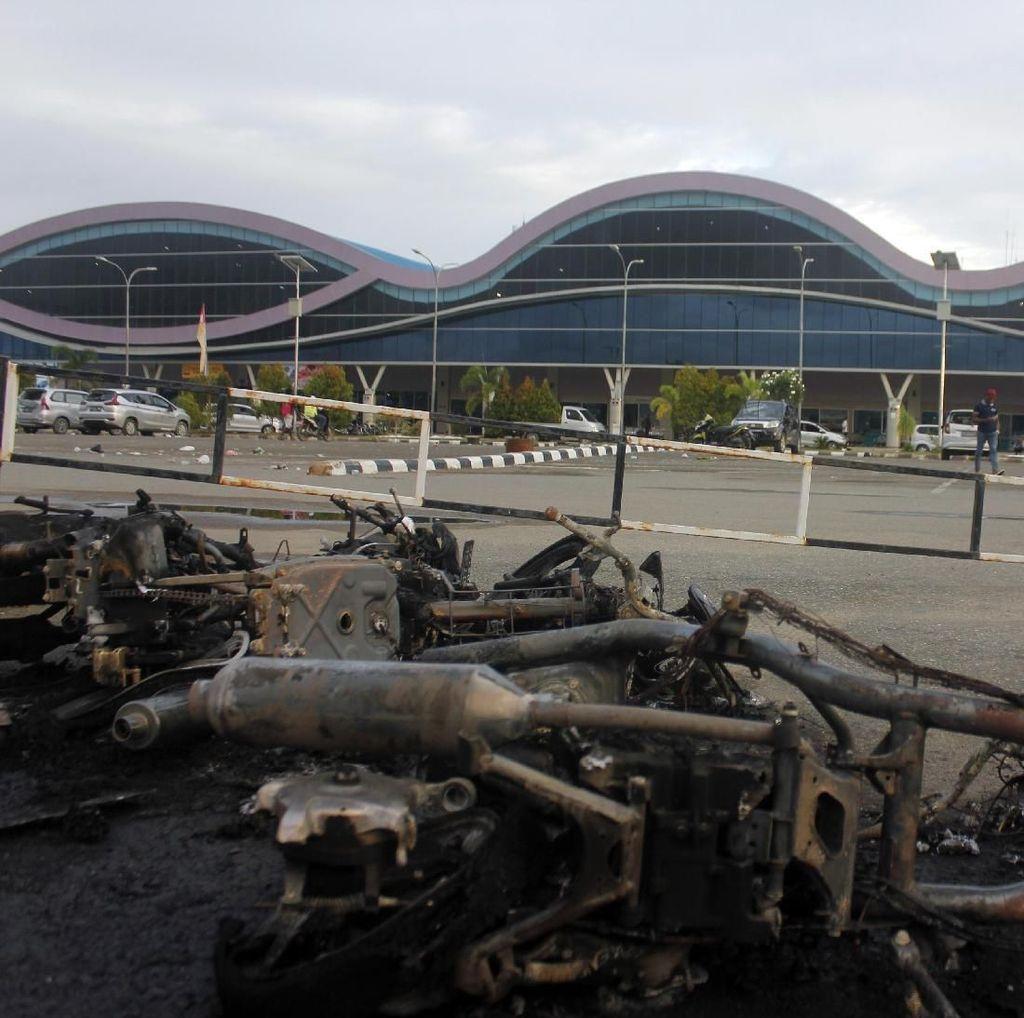 Rusuh di Papua Barat, 2 SSK Brimob Polda Sulsel Diberangkatkan