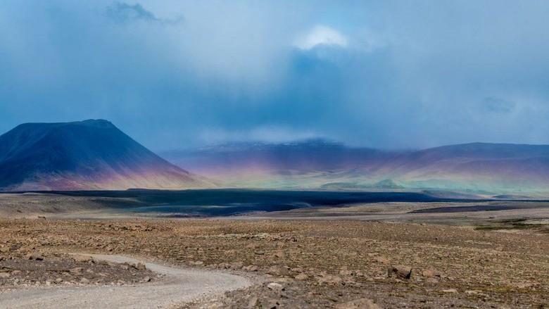 Punahnya Sebuah Gletser di Islandia yang Ditandai dengan Prasasti