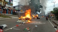 Demo di Manokwari, Warga Pendatang Tak Berani Keluar Rumah