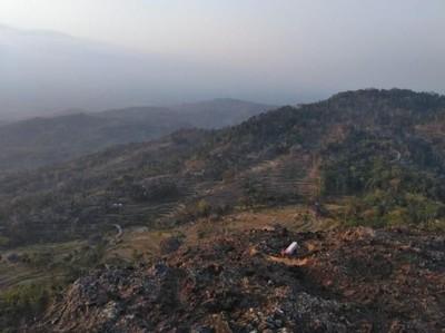 Menanti Senja di Kampung Pitu Nglanggeran