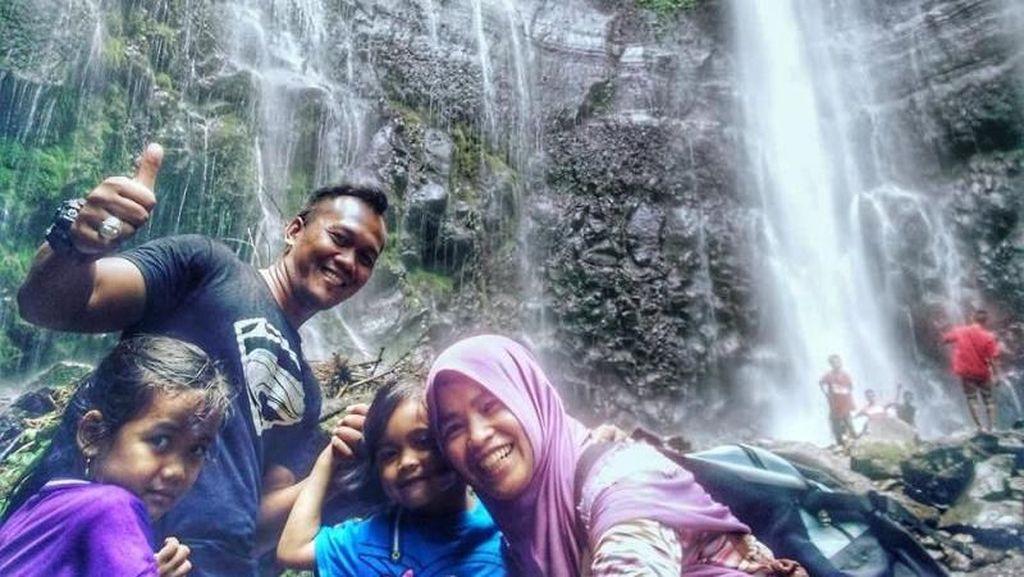 Tak Jauh Dari Semarang, Ada Air Terjun Cantik Nih
